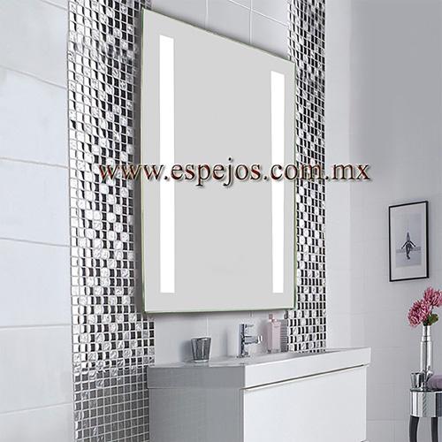 Espejo con luz fashion two for Espejos decorativos con luz